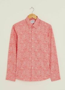 Peter Werth New Mens Dorvill Long Sleeved Shirt - Light Pink