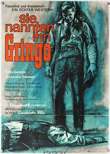 Orig.-Filmplakat A1 Sie nannten ihn Gringo-Man Called Gringo Götz George Litter