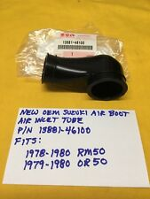 NEW OEM SUZUKI Airbox Air Inlet Tube/Boot,RM50/ OR50 Ahrma,13881-46100