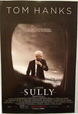 SULLY movie POSTER 17x11.5 Tom Hanks Clint Eastwood Eckhart Oscar contender