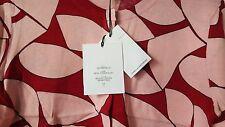 DVF Diane von Furstenberg NWT ibiza beach leaves red berry sweater S