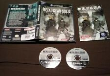 Metal Gear Solid The Twin Snakes Nintendo GameCube Complete CIB SHIPS IN A BOX