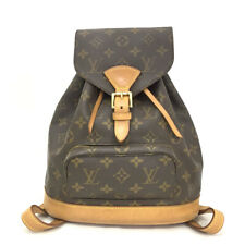 100% Authentic Louis Vuitton Monogram Montsouris MM Backpack /40375