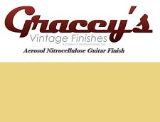 -Blonde- Gracey's Vintage Finishes Nitrocellulose Guitar Lacquer Aerosol.