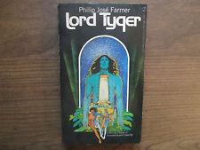 1972 Lord Tyger Philip Jose Farmer Signet Q5096 1st ed paperback VG+