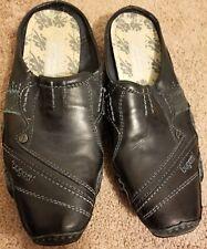 8fc01f133dbd BUGATTI Denim Black Driving Moccasins Loafers Leather UNIQUE Mens Shoe Size  8 ~