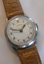 City Wristwatch - 32Mm Diameter - Manual Winding - Working - Swiss - Unused