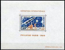 MONACO 1964 PHILATEC SCOTT#580 SOUVENIR SHEETS MINT NEVER HINGED