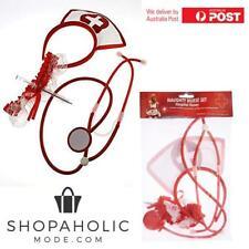 Naughty Nurse Set Stethoscope Garter Syringe Pen Halloween Costume Props