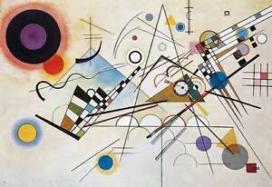Abstract Composition 8 By Wassily Kandinsky Wall Art Poster Home Decor Print