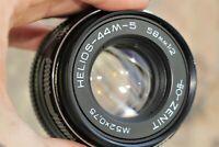 Vintage Soviet lens  HELIOS 44m-5 SLR for Zenit, Sony Canon Nikon etc.