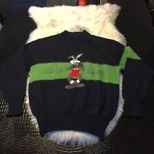 Vintage JC De Castelbajac Iceberg Bugs Bunny Looney Tunes, Italy Sweater Size 3