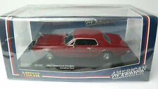 MERCURY COUGAR CARDINAL RED 1967 VITESSE 36300 1:43 PLASTIFCATED
