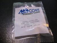 M/A-COM 2052-5085-02 SMA Connector Bulkhead Female In Bag - NOS Qty 1