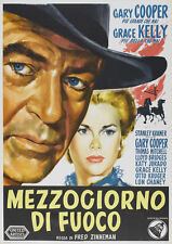High Noon Gary Cooper Grace Kelly cult movie poster print 2