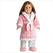 American Girl EMILY ROBE SLIPPERS NIB  pajamas and doll not included