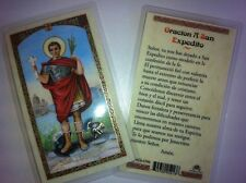 HOLY PRAYER CARDS FOR THE PRAYER TO ST. EXPEDITE SET OF 2 IN SPANISH FREE SHIP!