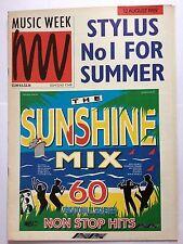 MUSIC WEEK MAGAZINE    AUGUST 12 1989  DOOLEY'S DIARY   LS