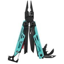 New Leatherman SIGNAL AQUA Stainless Steel Multi-Tool & Nylon Sheath