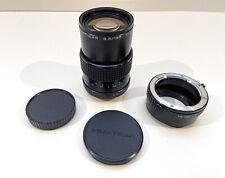 carl zeiss jena prakticar 3.5/135 MC lens & converter mount for Sony E/NEX