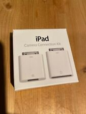 Apple iPad Camera Connection Kit SD Reader MC531ZM/A Model A1362/A1358