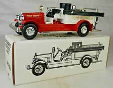 "Ertl #9651 ""Baltimore Fire Dept"" 1926 Seagrave Fire Truck Bank Mint With Box"