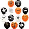 👻15 X HALLOWEEN BALLOONS SKULL PUMPKIN SPIDER BAT CAT Orange Black Decoration👻