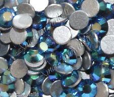 20 STRASS Cristal SWAROVSKI Bleu Capri Blue AB 2,1 mm Nail Art bijoux d'ongle
