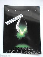 ALIEN-ALIENS-PROGRAM-MOVIE POSTER-HORROR-SCI FI-MONSTER-OUTER SPACE-HR GIGER-
