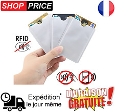Etui de protection carte bancaire sans contact RFID NFC étui anti-piratage