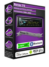 Rover 75 DAB radio, Pioneer car stereo CD USB AUX player, Bluetooth kit