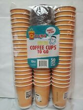 Q Cups 12oz Disposable Paper Coffee Cups With Lids 50 Count Funny