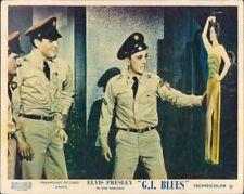 ELVIS PRESLEY ORIGINAL 1960 LOBBY CARD GI BLUES