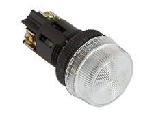 NPL-22 ATI White LED Pilot Indicator Light 22mm 220V AC Replaceable Lamp