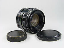 ZENITAR-M 50mm f/1.7 M42 Russian Lens Zenit, KMZ made. s/n 805453.