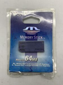 Sony 64MB Memory Stick Card - OEM - MSA-64A