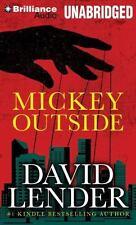 Mickey Outside by David Lender (2014, MP3 CD, Unabridged)
