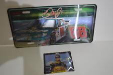 Dale Earnhardt Jr. Signs Nilla Car Amp Car License Plate Man Cave Nascar Decor