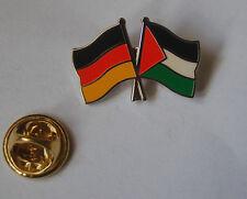 Freundschaftspin Deutschland Palästina Pin Button Badge Anstecker Asien