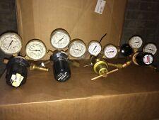 FOUR Pressure Regulator Gas Cylinder Industrial Lab Welding Chemistry