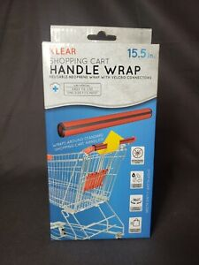 Klear Reusable Shopping Cart Handle Wrap- Red New