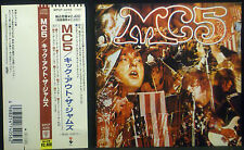 CD MC 5 - kick out the jams, Japan-Import incl. OBI