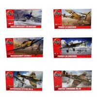 Airfix World War WW1 WW2 1:72 Fighter Planes - Multiple Options