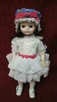 Vintage Madame Alexander Doll Degas with Original Box & Tag #58