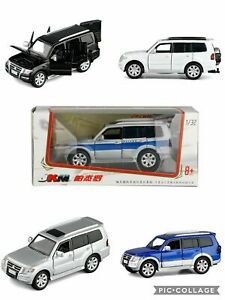 1:32 MITSUBISHI PAJERO V97 4WD CAR PULLBACK CAR VEHICLE DIECAST COLLECTION TOY