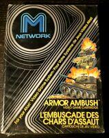 Atari 2600 Armor Ambush M Network New in Box NIB