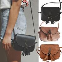 Tassel Women Handbag Shoulder Bags Tote Purse Girls Leather Messenger Hobo Bag
