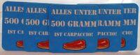 5 BIERDECKEL + Postkarte + Spaß Grillen + Alles unter 500 Gramm ist Carpaccio #1