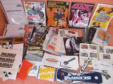 Moto 2 roues Quad - Énorme lot papiers, revues technique, catalogues, stickers