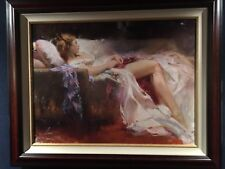Sweet Repose - Pino Limited Edition Enhanced Giclee On Canvas